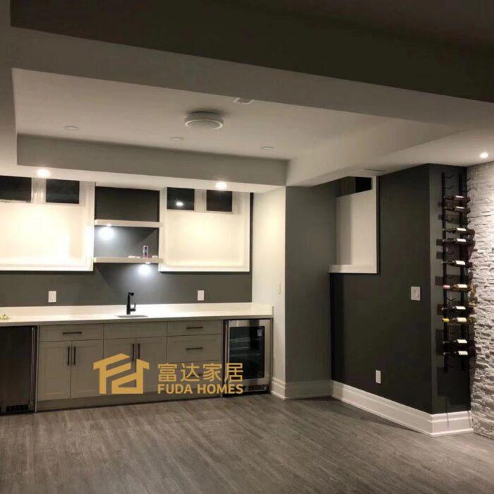 basement wine rack